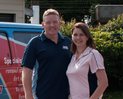Heather & Steve from Ace Curtain Clean